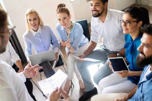 Projektmanagement-Richtlinien werden im Team umgesetzt