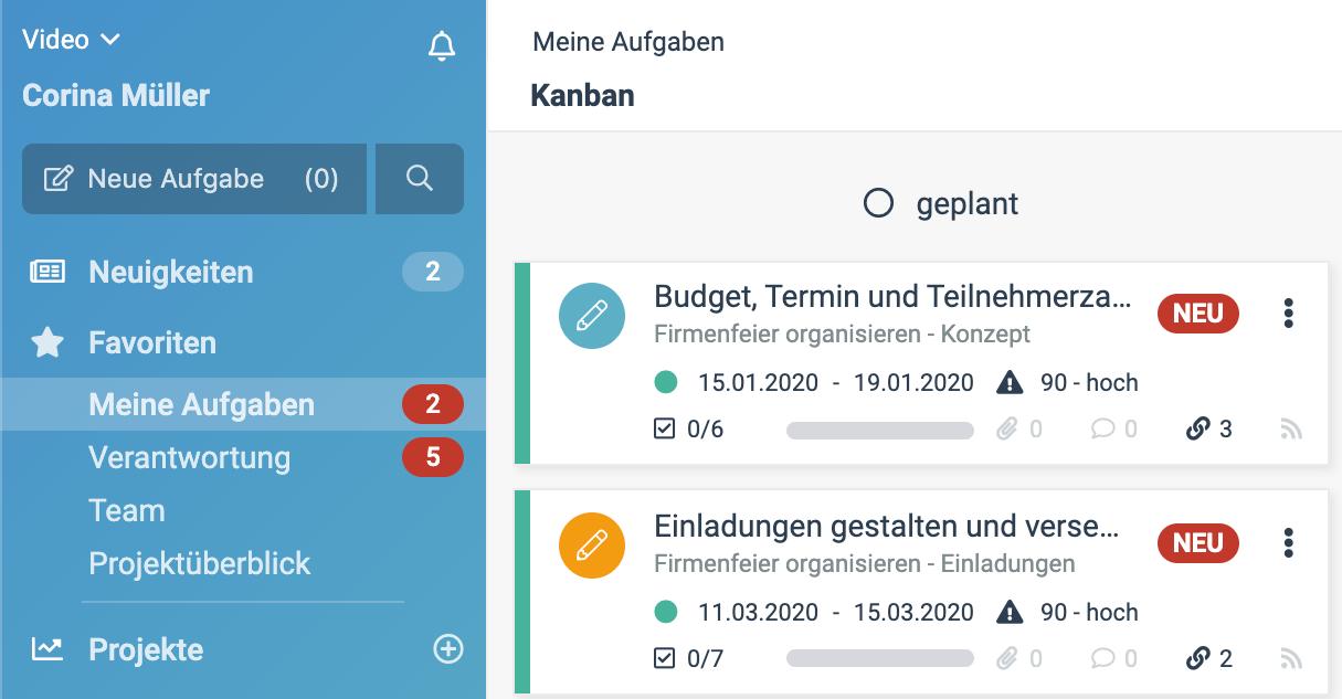 """Ein Screenshot der neuen factro Funktion """"Live Alerts"""""""