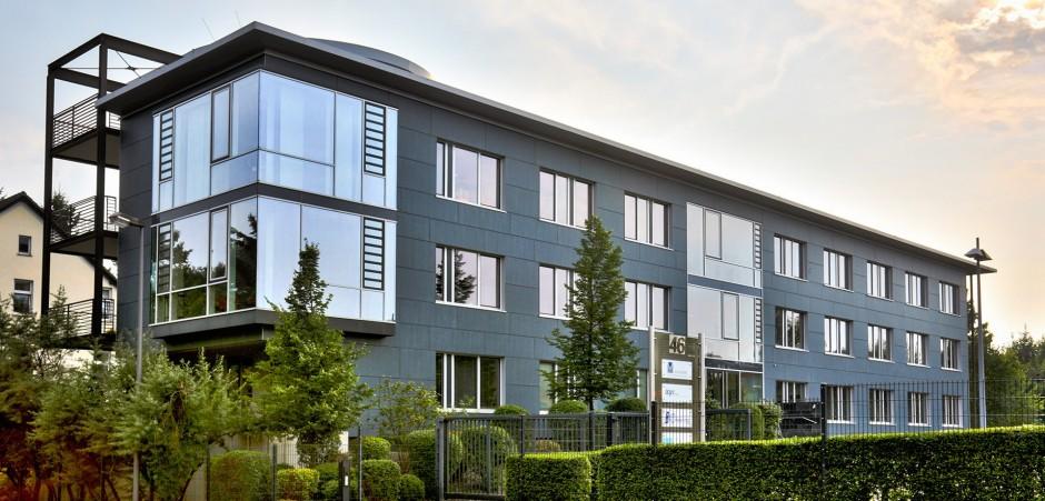 Ein Bild des factro Unternehmensgebäudes