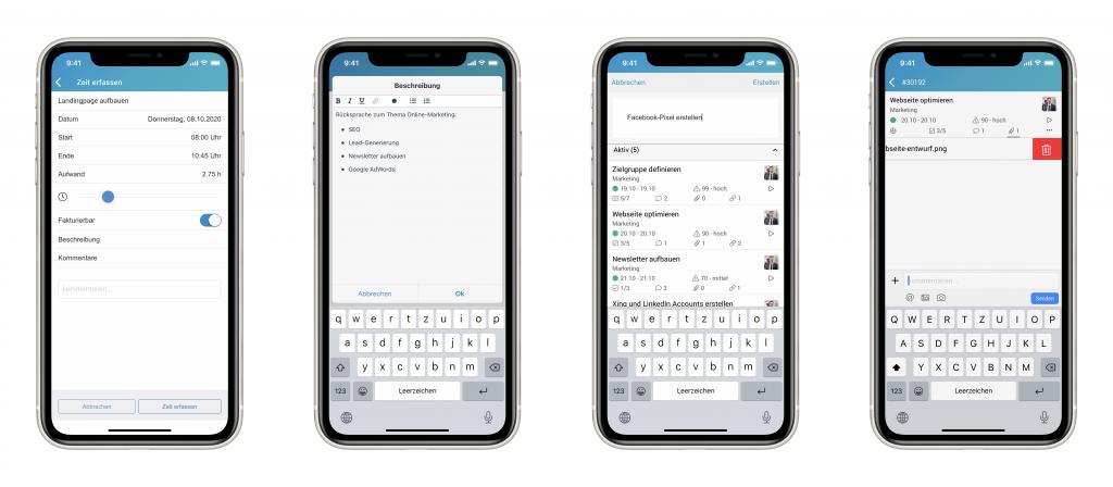Eine Zusammenstellung der neuen Features in der factro Mobile App
