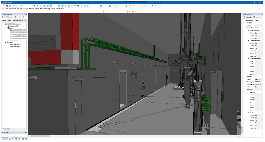 Screenshot der Software DDS-CAD