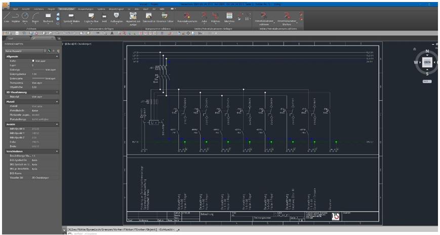 Ein Screenshot des Tools ecscad