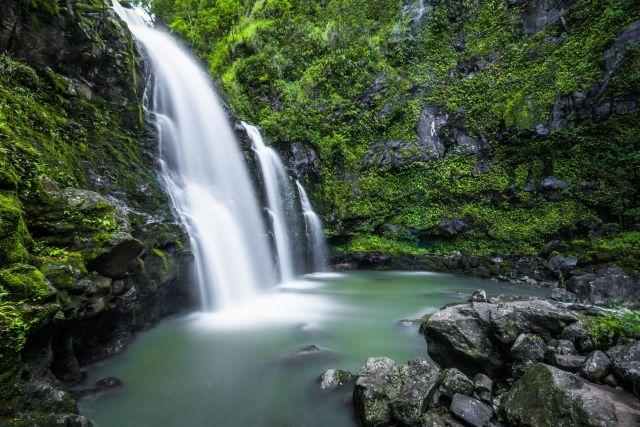 Wasserfall Natur Landschaft