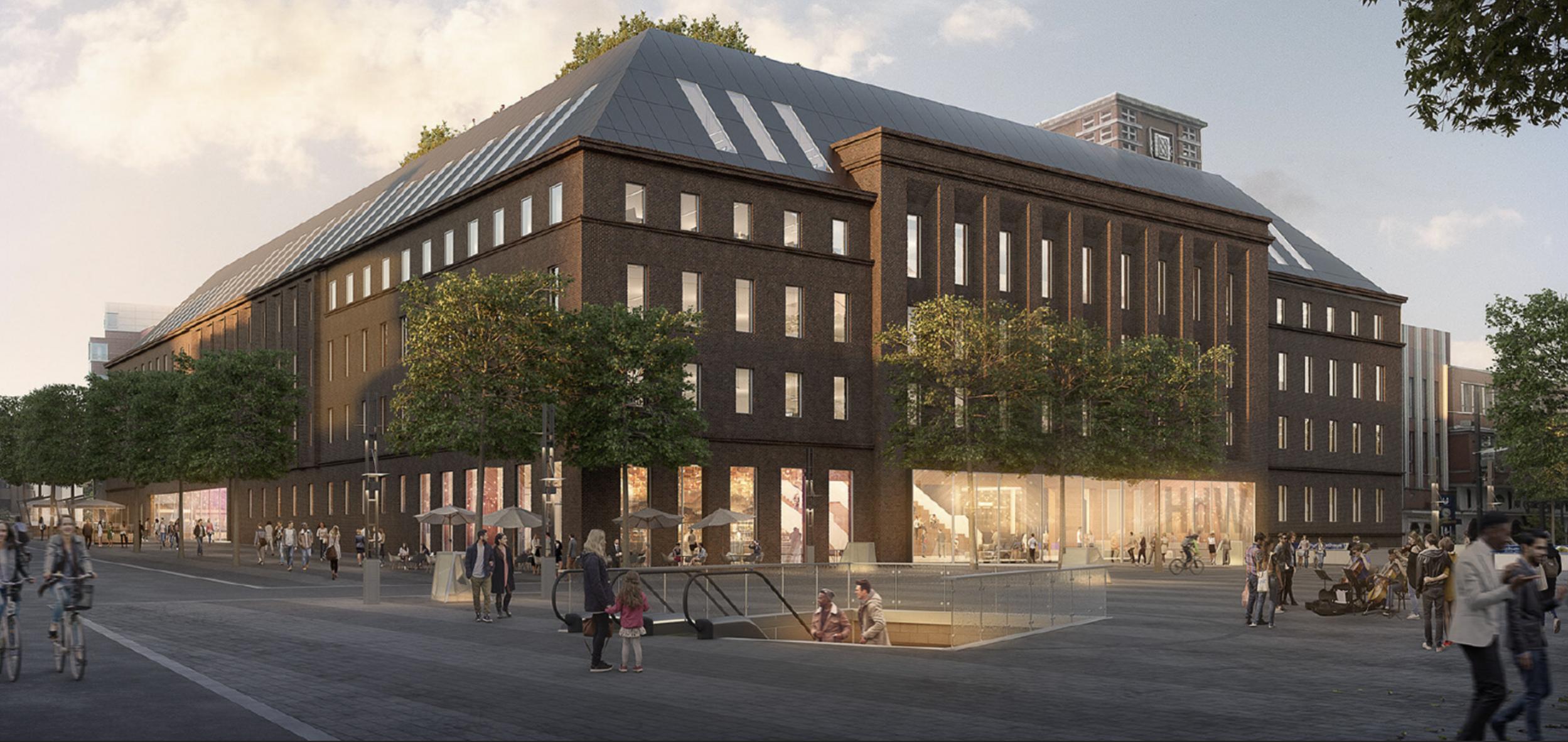 Das Haus des Wissen in der Stadt Bochum