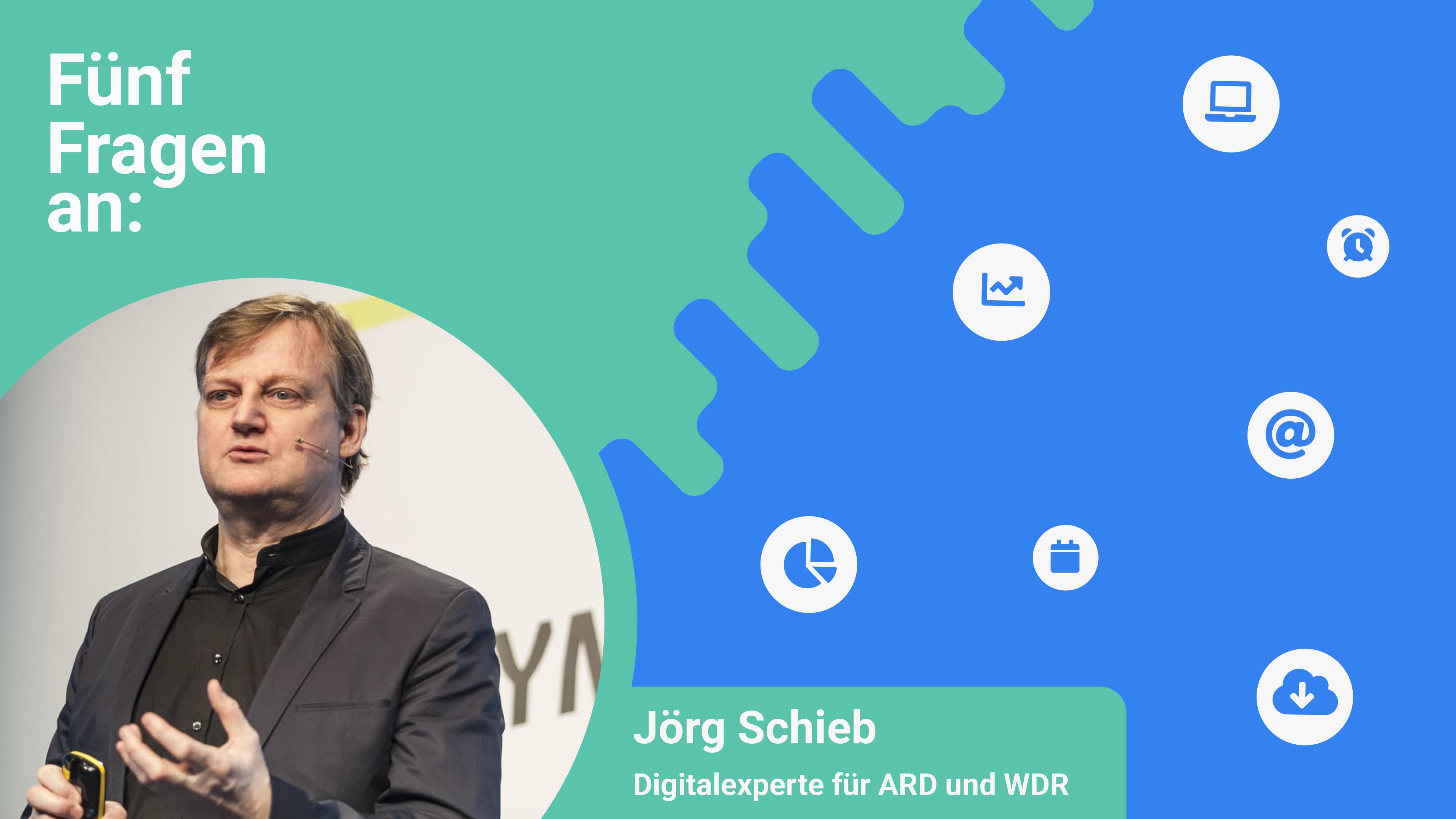 Jörg Schieb, Digitalexperte von ARD und WDR